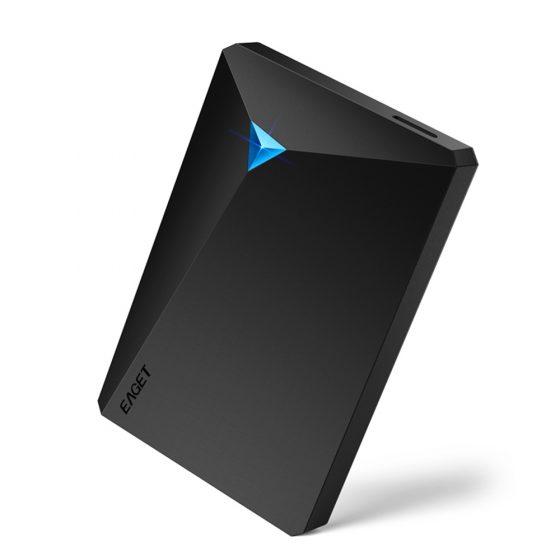italiaunix-EAGET G20 External Enclosure For 2.5 Inch HDD 5400RPM 2TB - Black