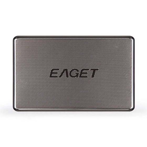 italiaunix-EAGET G50 High Speed USB 3.0 1TB External Hard Drives Portable Stainless Steel Encryption Mobile Hard Disk - Black
