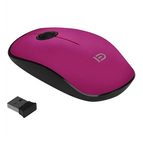 italiaunix-FUDE V8 2.4GHz Wireless Ultra Thin Mouse Compact Soundless Mice 1500DPI - Rose