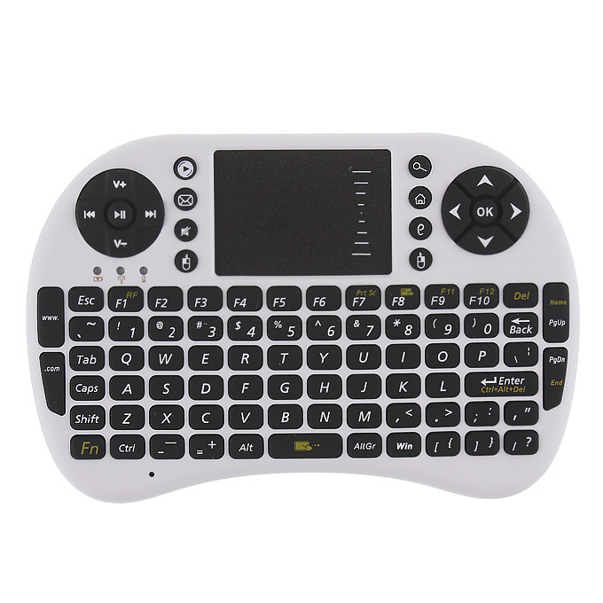 italiaunix-Fashion UBK-500-RF World's Most MINI Wireless Keyboard Mouse Combo for Game Home Entertainment& Android TV Box
