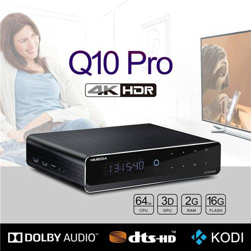 "italiaunix-Himedia Q10 Pro Android 7.0 Hi3798CV200 4K HDR 2GB/16GB TV BOX 802.11AC WIFI 1000M LAN Dolby DTS-HD 3D Blu-ray 3.5"" SATA HDD Bluetooth Media Player"