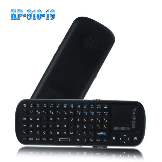 italiaunix-IPazzPort KP-810-19 2.4G Mini Wireless Keyboard with Touchpad and LED light Flymouse For Tablet Mini PC TV Box