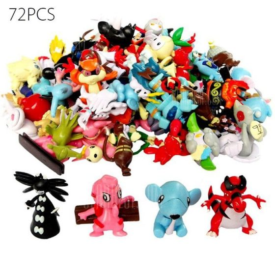 italiaunix-Lovely Little Monster Figure Model Collection 48pcs  Gearbest