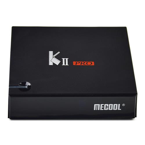 italiaunix-MECOOL KII PRO Hybird STB DVB-T2/S2/C YouTube 4K Netflix HD Android 7.1 Amlogic S905D 2GB/16GB TV BOX 802.11AC WIFI LAN KODI Bluetooth