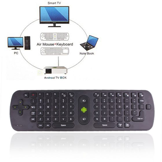 italiaunix-Measy RC11 Android Monitor Wireless Keyboard Air Mouse Remote Controller With Gyroscope for Android Google TV Box