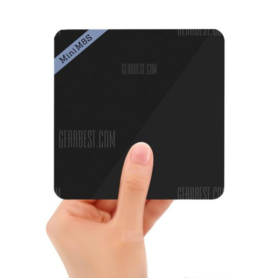 italiaunix-Mini M8S II 4K Smart TV Box Android Amlogic S905X Quad Core Processor  Gearbest