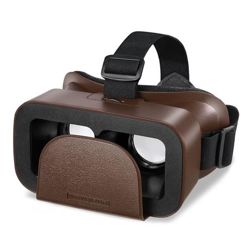 italiaunix-Motospeed MV300 3D VR Headset Virtual Reality Glasses 96 Degree FOV IPD Adjustment for 4.0-6.0 Inch Smart Phones  - Brown