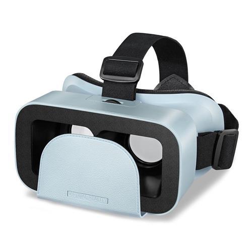 italiaunix-Motospeed MV300 3D VR Headset Virtual Reality Glasses 96 Degree FOV IPD Adjustment for 4.0-6.0 Inch Smart Phones  - Blue