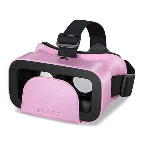 italiaunix-Motospeed MV300 3D VR Headset Virtual Reality Glasses 96 Degree FOV IPD Adjustment for 4.0-6.0 Inch Smart Phones  - Pink