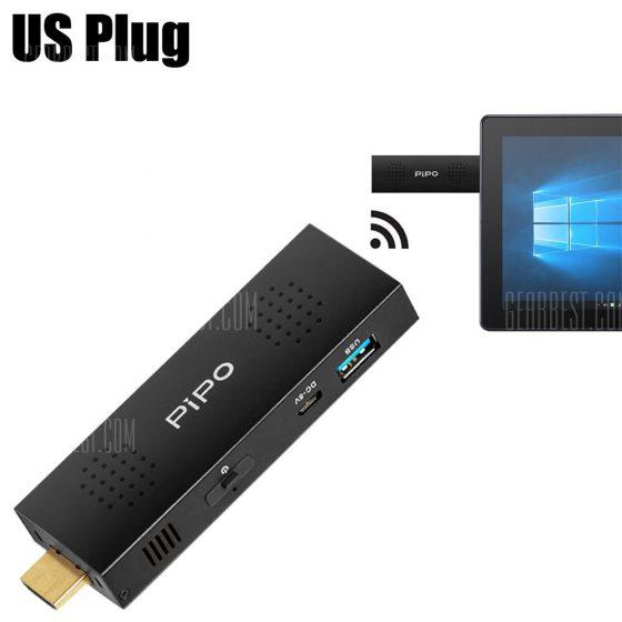 italiaunix-Pipo X1S Mini PC TV Stick Intel Cherry Trail Z8300 Quad Core