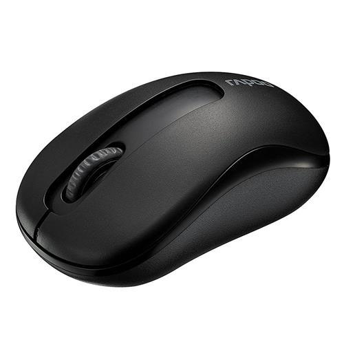 italiaunix-Rapoo M10 2.4G Wireless Optical Mouse 1000DPI Long Battery Life - Black