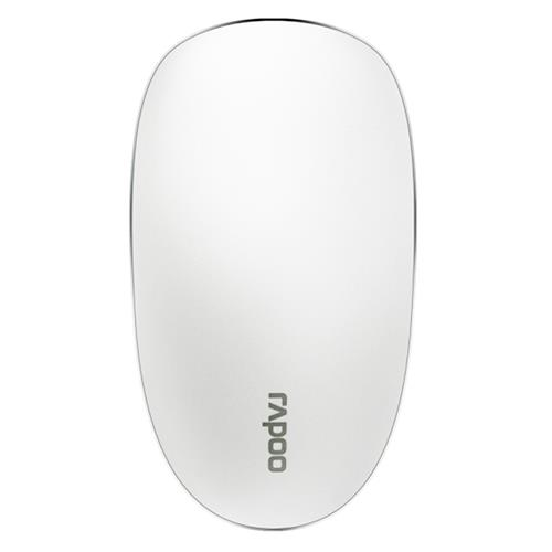 italiaunix-Rapoo T8 USB Wireless  Mouse 5.8GHz Ultra-Thin Laser Touch Mouse Durable  Slient Clicking - White