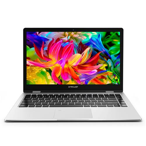 "italiaunix-Teclast F6 Pro Notebook Fingerprints Intel Core m3-7Y30 Dual Core 13.3"" 1920*1080 IPS Screen 8GB RAM 128GB ROM Windows 10 Dual Band Wifi - Silver"