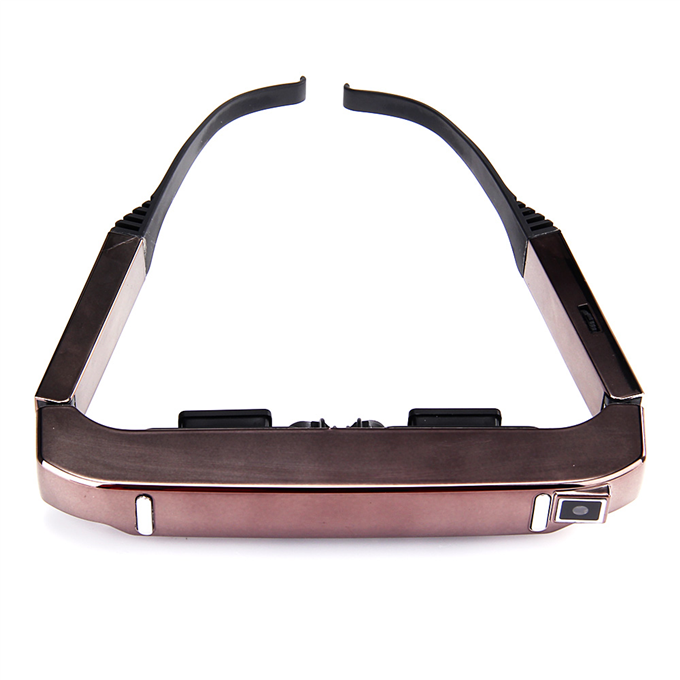 italiaunix-VISION-800 3D Video Glasses 3D Goggles Android 4.4 MTK6582 1G/2G 5MP AC WIFI BT4.0 2060P MIC