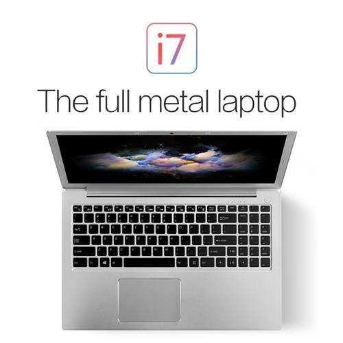 italiaunix-VOYO I7 Notebook 15.6 Inch Intel Core i7-6500U 2.50 GHz WIFI 8GB DDR3L RAM 1TB HHD ROM Bluetooth 4.0 - Silver