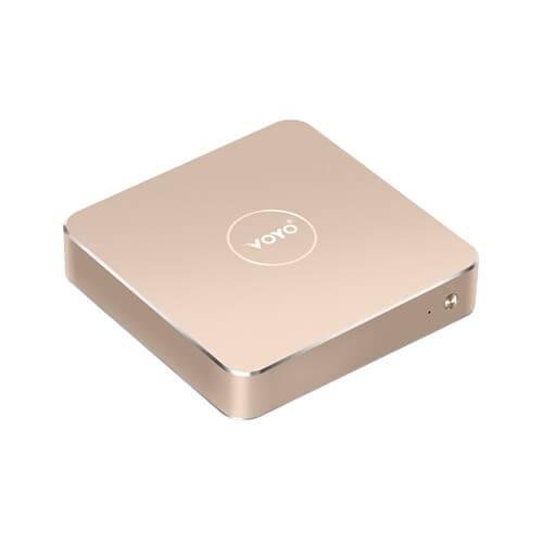 italiaunix-VOYO VMac (V1) Mini PC Licensed Windows 10.1 64bit Intel Apollo Lake Celeron N3450 4GB DDR3L 120GB SSD 4K 2.4G WIFI Gigabit LAN LibreELEC - Gold