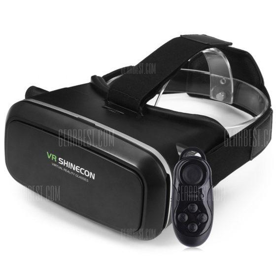 italiaunix-VR SHINECON 3D VR Glasses with B100 Remote Control