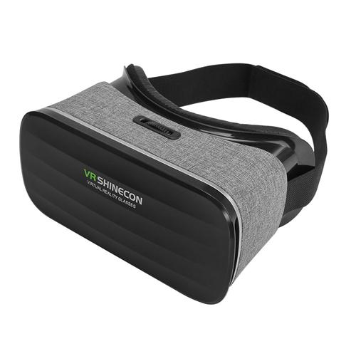 italiaunix-VR SHINECON Y-005 Lycra Fabric 3D VR Headset FOV110 for 4-6 Inch Android iOS Windows Smartphones