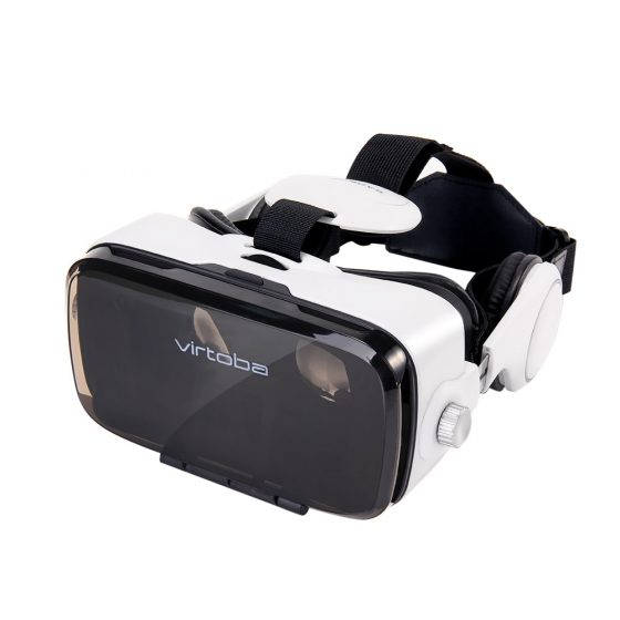italiaunix-Virtoba X5 VR Virtual Reality Headset IPD Adjustable 120 Degrees FOV  Immersive VR Virtual Reality Movie Video Game Headset for 4-6 Inch Smartphone