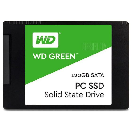 italiaunix-WD Green Solid State Drive 120G 120G