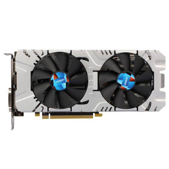 italiaunix-Yeston AMD RX570 8G DDR5 256Bit GAEA Graphics Card With DP HDMI DVI Ports - Random Color