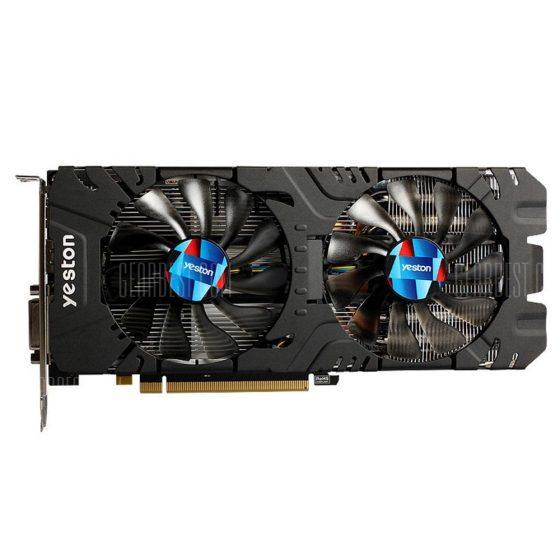 italiaunix-Yeston AMD Radeon RX570 4G GDDR5 Graphics Card