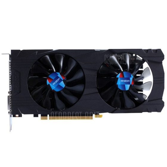 italiaunix-Yeston GTX1050Ti - 4G D5 7008MHz 128bit Graphics Card