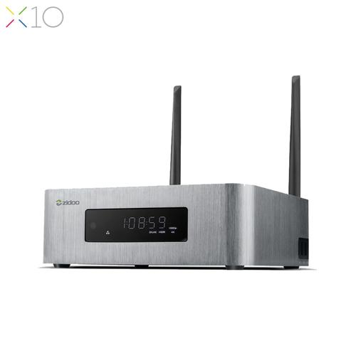 italiaunix-ZIDOO X10 Android OpenWRT(NAS) Realtek RTD1295 4K 10Bit Blu-ray Media Player 2GB/16GB SATA AC WIFI Gigabit LAN USB3.0 Bluetooth