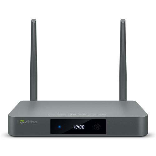 italiaunix-ZIDOO X9S Realtek RTD1295 Android 6.0 OpenWRT(NAS) Blu-ray Navigation TV BOX 2GB/16GB AC WIFI 1000M LAN HDR USB3.0 HDMI in SATA Bluetooth Media Player