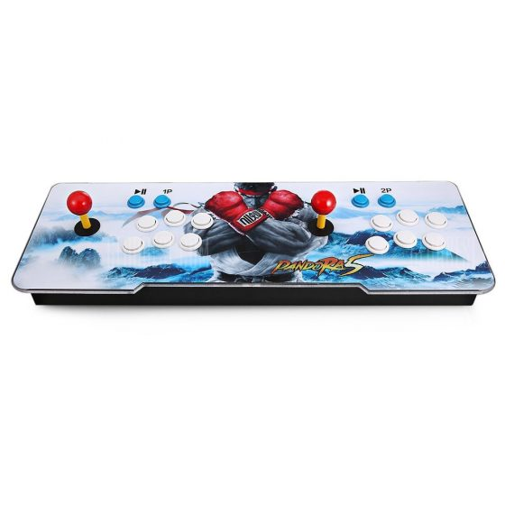 italiaunix-1299 Video Games Arcade Console Machine Double Joystick Pandora's Box 5s+ VGA HDMI 02