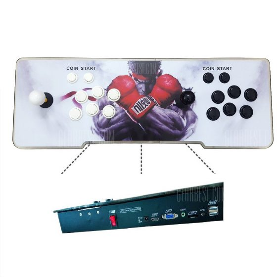 italiaunix-999 in 1 Video Games Arcade Console Machine Double Stick HomePandora's Key 5s 2 US