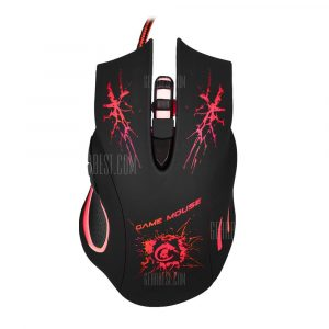 italiaunix-A888 6D USB Wired Optical Gaming Mouse