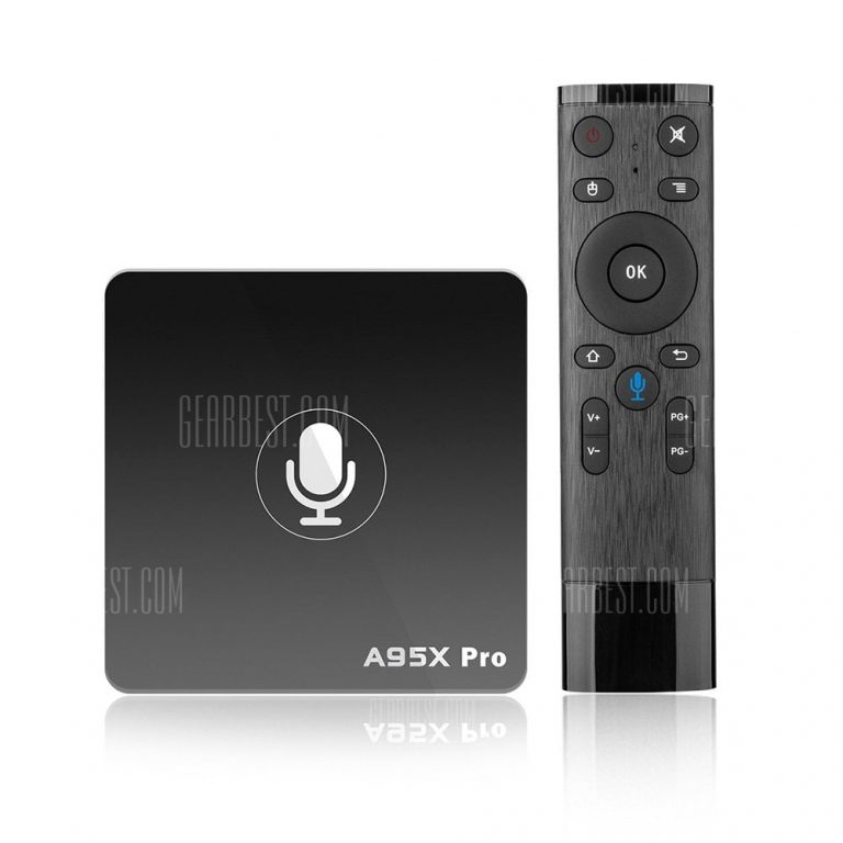 italiaunix-A95X PRO Android TV Box with Voice Control  Gearbest