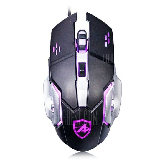 italiaunix-Ajazz AJ110 Wired Gaming Mouse LOL Colorful Light