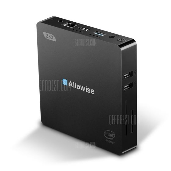 italiaunix-Alfawise Z83V Mini PC TV Box Desktop US PLUG (2-PIN)