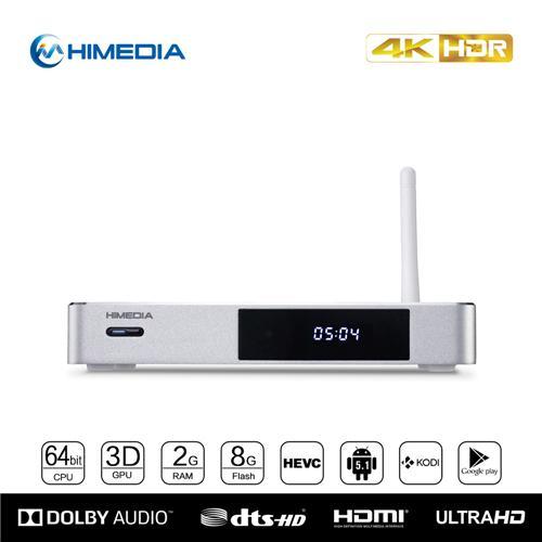 italiaunix-Himedia Q5 Pro HI3798CV200 4K@60fps Android 5.1 TV BOX 2GB/8GB 802.11AC WIFI 1000M LAN KODI H.265 3D Bluetooth