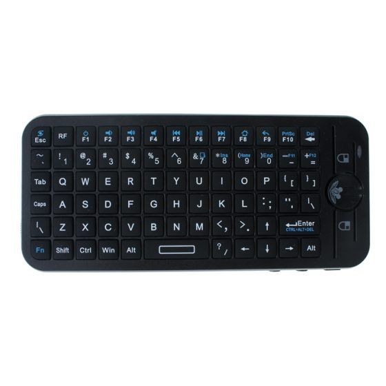 italiaunix-IPazzPort KP-810-16V 2.4G Wireless Mini Voice Keyboard Fly/Air Mouse with Speaker and Microphone