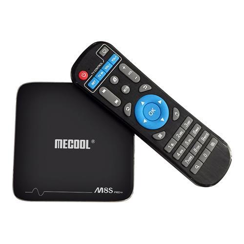 italiaunix-MECOOL M8S PRO Plus YouTube 4K Netflix HD Streaming Android 7.1.1 Amlogic S905X 2GB/16GB WIFI 4Kx2K@60fps VP9 HDR10