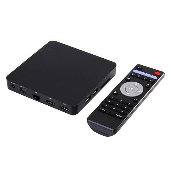 italiaunix-MXIII PRO Gigabit KODI TV BOX 4K*2K H.265 Decoding Android 4.4 Amlogic S812 Quad Core 2GB/8GB 2.4G/5G Dual Band WIFI Bluetooth4.0 Media Player