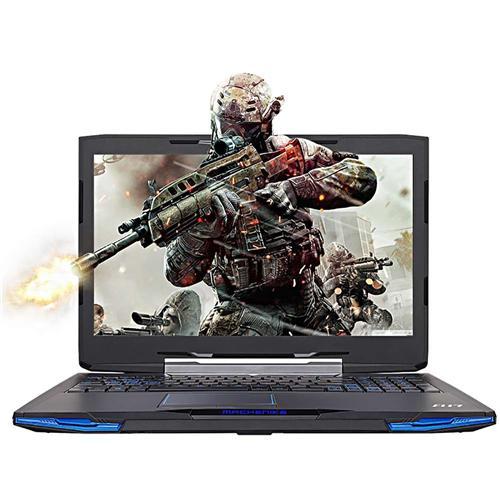 italiaunix-Machenike F117-F2U 15.6 Inches Gaming Laptop DOS GTX1050 4G Intel Core i7-7700HQ Quad Core 2.8GHz 8GB DDR4 1TB HDD AC WIFI Gigabit LAN 1080P FHD IPS Display