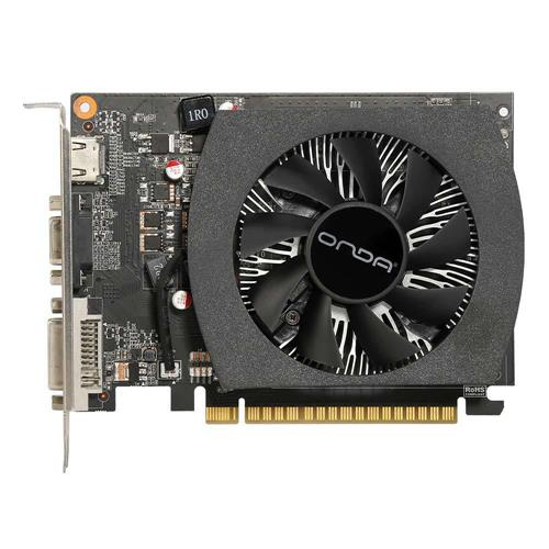 italiaunix-Onda NVIDIA GeForce GTX 750Ti 4GD5 4GB DDR5 128bit Desktop Graphics Card For HDMI VGA DVI Port AVC HD Durable Low Noise Design 5400MHz - Black