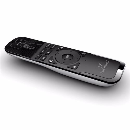 italiaunix-Rii Mini i7 MWKS07 6-axis 2.4G Wireless Air Fly Mouse Keyboard Remote Airmouse for HTPC Android TV Box PC Laptop