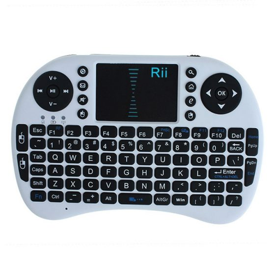 italiaunix-Rii i8 Mini 2.4G Wireless Keyboard with Touchpad for PC Google Android TV Box Xbox360 PS3 HTPC