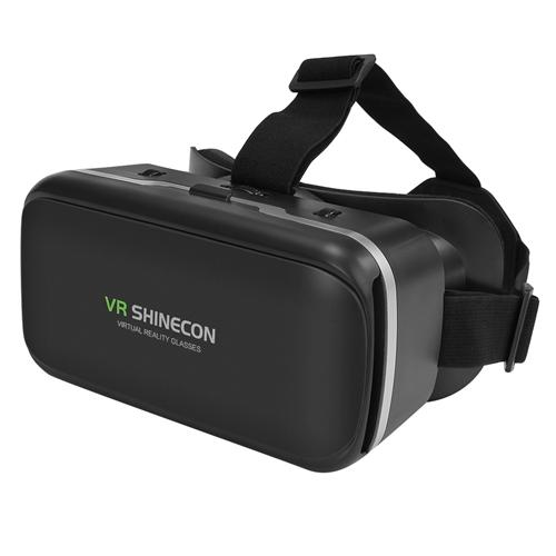 italiaunix-VR SHINECON G-04 VR Headset FOV120 IPD Focus Adjustable for 3.5-6 Inches Android iOS Windows Smartphones