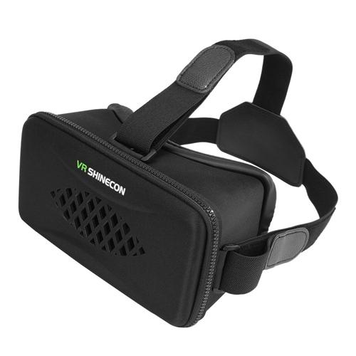 italiaunix-VR SHINECON Y-003 3D Virtual Reality Headset FOV105 IPD Focus Adjustable for 4-6 Inches Android iOS Windows Smartphones