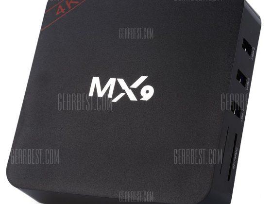 italiaunix-MX9 Smart Box TV Android  Gearbest
