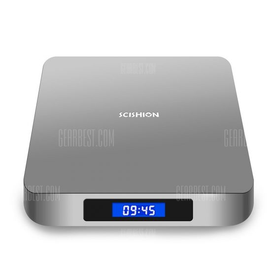 italiaunix-SCISHION AI ONE Android 8.1 TV Box Rockchip 3328 2GB RAM + 16GB ROM 2.4G WiFi USB3.0 BT4.0 Voice Control  Gearbest