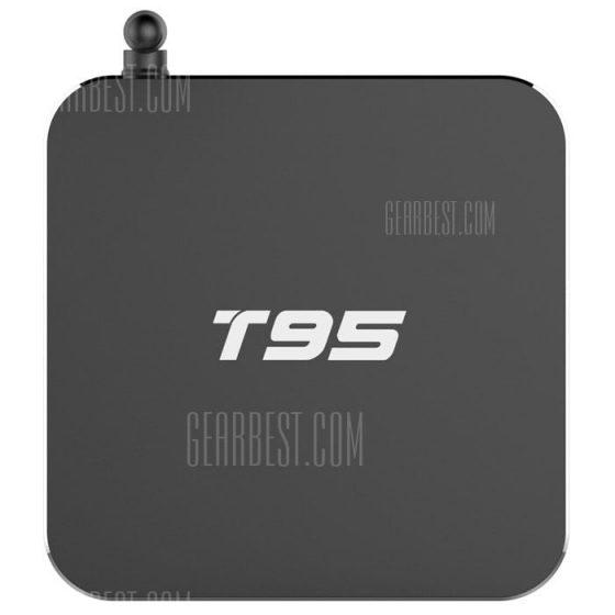 italiaunix-Sunvell T95 TV Box Metal Shell Google TV Player