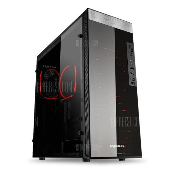 italiaunix-Segotep K8 Full Side Acrylic ATX Gaming Case