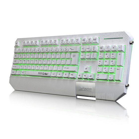 italiaunix-Ajazz AK30 Membrane Keyboard with Wrist Pad